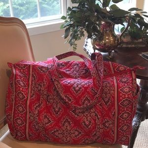 Vera Bradley Large Duffel - retired pattern